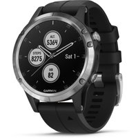 Garmin Fenix 5 Plus Glass Premium Multisport Watch with Music, Maps, and Garmin Pay