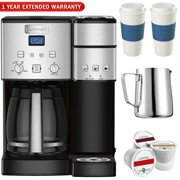 1451dc8bc50e Cuisinart SS-15 12-Cup Coffee Maker and Single-Serve Brewer