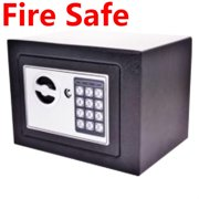 Clearance !DIGITAL ELECTRONIC LOCK SAFE FIRE SECURITY BOX WALL JEWELRY CASH CYBST