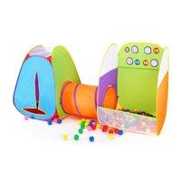 Kids Tent Fun Toss It Game Zone 3-in-1 Pop Up Tent Play Tents Indoor Outdoor Tent Great Game & Toy Gift For Children Fun By Alvantor (Include 4 balls)