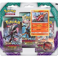 Pokemon Sun and Moon Guardians Rising, 3 Boosters with Foil Promo Card