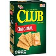 Keebler Club Snack Crackers Light Flaky Butter Original, 13.7 Oz