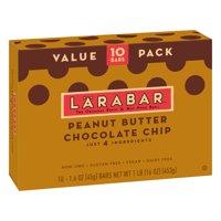 Larabar Gluten Free Peanut Butter Choc Chip Fruit & Nut Bars 16 oz