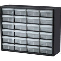 Akro-Mils 24-Drawer Plastic Storage Cabinet -AKM10124