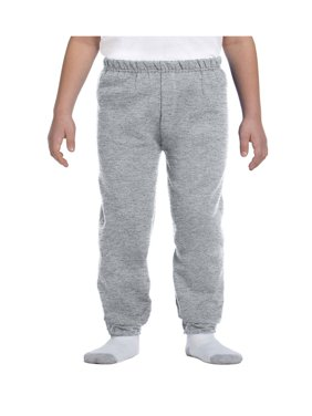Jerzees Big Boys Elastic Waist And Bottom Leg Fleece Sweatpant, Style 973B