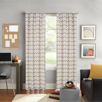 Better Homes and Gardens Chevron Printed Window Curtain, Rod Pocket