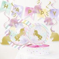 Unicorn Birthday Decorations Kit