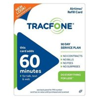 Tracfone 60 Minutes pin