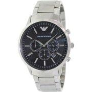 0808c4dc53a Emporio Armani Men s Sportivo AR2460 Black Stainless-Steel Analog Quartz  Watch
