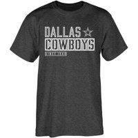 Men's Heathered Black Dallas Cowboys Field General T-Shirt