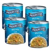 (4 Pack) Progresso Traditional Split Pea With Ham Soup, 19 oz