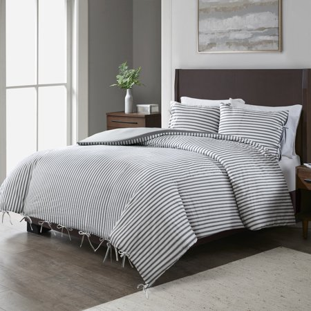 - Better Homes and Gardens Assorted Ticking Stripes Duvet Cover Collection