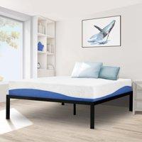 GranRest 16'' High Profile Metal Bed, Multiple sizes