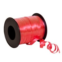 Curling Ribbon, Red, 100 yd, 1ct