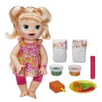 Baby Alive Super Snacks Snackin? Sara Blonde