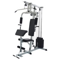 Deals on BalanceFrom Home Gym System Workout Station BF-RS80
