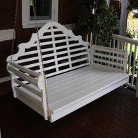 Furniture Barn USA™ Pine Lattice Back Swing Bed