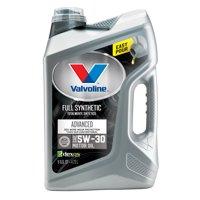 Valvoline Advanced Full Synthetic SAE 5W-30 Motor Oil - Easy Pour 5 Quart