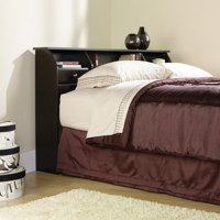 Sauder Shoal Creek Full/Queen Bookcase Headboard, Multiple Colors