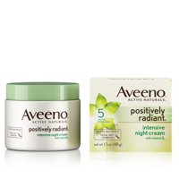 Aveeno Positively Radiant Intensive Moisturizing Night Cream, 1.7 oz