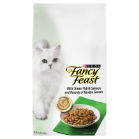Fancy Feast with Ocean Fish & Salmon Dry Cat Food (Various Sizes)