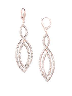 Orbital Crystal Drop Earrings