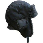 7ae595385b924 NICE CAPS Big And Little Boys Taslon Trapper Winter Snow Ski Headwear Hat  with Big Ear