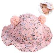 bc2cef68 Infant Sun hat, Aniwon Cotton Cute Lovely Pom Pom UV Sun Protection Sun  Visor Bucket