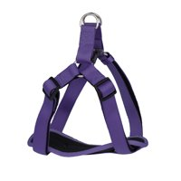 Vibrant Life Comfort Purple Padded Dog Harness, Large, 22-36 in