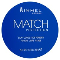 Rimmel London Match Perfection 001 Transparent Silky Loose Face Powder, 0.35 oz