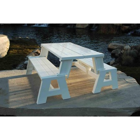 Convert-A-Bench Outdoor Bench and Picnic Table ()