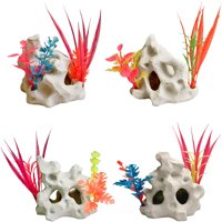 Aqua Culture Holey Rock Aquarium Ornament