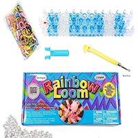 Rainbow Loom The Original Rainbow Loom with Metal Hook 2.0 Crafting Starter Kit Set