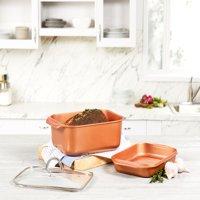 Copper Chef Wonder Cooker 3 Piece Cookware Set