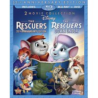 The Rescuers and The Rescuers Down Under (35th Anniversary Edition) (Blu-ray + DVD)