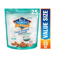 Blue Diamond Almonds Oven Roasted Sea Salt Almonds, 25 Oz.