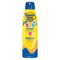Banana Boat Kids Sport Sunscreen Lotion Spray SPF 50+, 6 Oz, Packaging May Vary