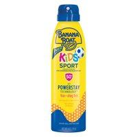 Banana Boat Kids Sport Sunscreen Lotion Spray SPF 50+, 6 oz