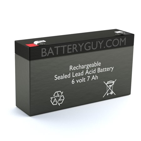 4101 Series - Dyna-Ray 4101 replacement battery (rechargeable)