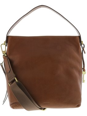 Fossil Maya Ladies Brown Leather Hobo Hanbag ZB6979