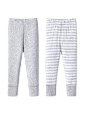 Cotton Pants, 2pk (Baby Boys or Baby Girls Unisex)