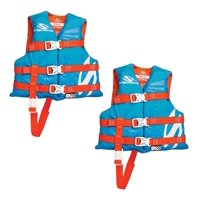 Stearns Child Nylon Life Vest, Blue/Red