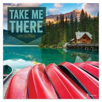 "2019 Take Me There 12"" x 12"" January 2019-December 2019 Wall Calendar"