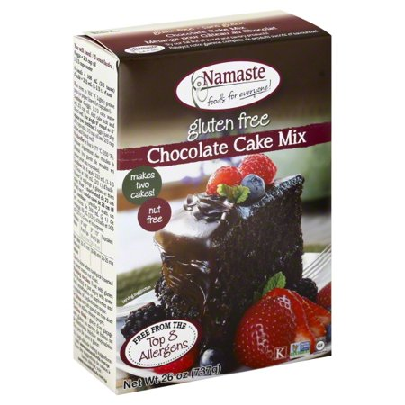 Namaste Foods, Gluten Free Chocolate Cake Mix, 26-Ounce Bags - Halloween Wars Cakes Food Network