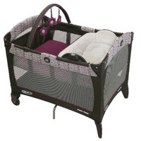 Graco Pack 'n Play Reversible Napper & Changer LX Playard with Bassinet, Nyssa