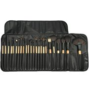 35f5091a751 Professional Makeup Brushes, 24 Piece Set, Black, Great for Highlighting    Contouring,