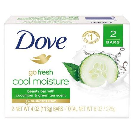 (Total 12ct) 6 pack_Dove go fresh Cucumber and Green Tea Beauty Bar, 4 oz, 2 Bar
