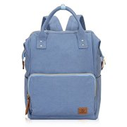 347dd72bd9e Hynes Eagle Stylish Doctor Style Canvas School Backpack Functional Travel  Bag for Men Women