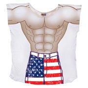 871234cf89 Stars & Stripes Guy Cover-Up - Regular size Beach T-Shirt Tee Sexy