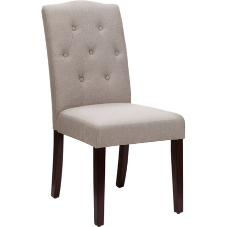 Better Homes and Gardens Parsons Tufted Dining Chair, Multiple (Parsons Chair Set Chair)